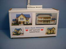 Dollhouse Miniature Colonial House 1/144th DH for your /DH -  KIT - Miniature