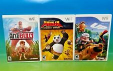 Up , Ant Bully, Kung FU Panda Legendary Warriors - Nintendo Wii 3 Games Disney