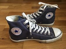 Mens Converse All Star Canvas Hi Top Trainers Sneakers Size UK 9 EU 42.5 Blue