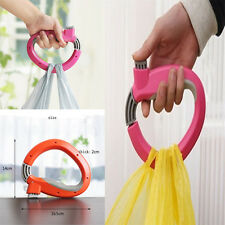 ONE Trip Grips Shopping Grocery Bag Carrier Holder Handle Lock Labor Saving Tool