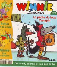 La Pêche du Loup Ysengrin * RATUS  luge * Winnie n° 7  * Conte * revue enfant