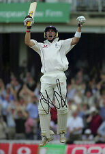 Kevin Pietersen Genuine Hand Signed 12X8 Photo England Cricket Hero 2005 COA (B)