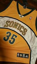 Kevin Durant Seattle Supersonics Sonics Rookie Authentic Alt Jersey Size 56 OKC