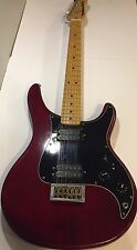 Vintage Retro Washburn Force 2 Electric Guitar Red Ash Maple Nice!!!