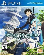 SWORD ART ONLINE:LOST SONG PS4 GAME NEW