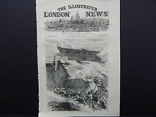 Illustrated London News Cover S7#23 May1871 French Siege Locomotive Battery