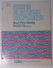 1991 Sanken Electronic Components Short Form Catalog - Switching Power Supplies