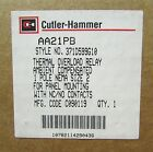 CUTLER HAMMER AA21PB Size 2 Overload Relay Panel Mount Single Pole 371D599G10