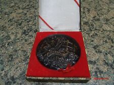 Vintage The GREAT WALL Of CHINA Brass Medallion Commemorative Coin,