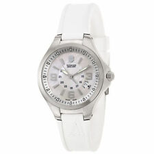 Victorinox Swiss Army Officer Watch Ladies White Rubber  241487 White Dial