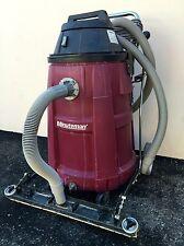 """Minuteman 290 Wet Dry Vacuum 15 Gal 290085 27"""" Wide Squeegee 390001 Shop Vac"""