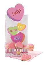 Valentine Words Can Express Treat Bag Kit 6 ct from Wilton #9804 - NEW