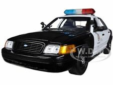 FORD CROWN  VICTORIA LOS ANGELES POLICE LAPD 1/18 MODEL CAR BY DARON 60326