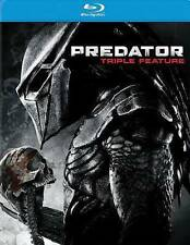 Predator - Triple Feature (Blu-ray Disc, 2014, 3-Disc Set)