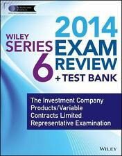 Wiley Series 6 Exam Review 2014 + Test Bank: The Investment Company Products / V