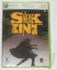 Sneak King (Xbox, 2006) Will Play on XBOX 360 – NEW