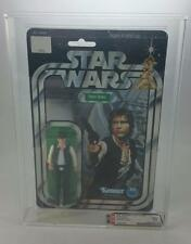 VINTAGE KENNER 1978 STAR WARS 12 BACK C HAN SOLO LARGE HEAD AFA 80 (C75 B85 F85)