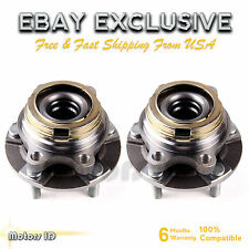 Pair Front Complete Wheel Hub and Bearing Assembly 513310 for Quest Murano