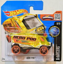 HOT WHEELS 2016 HW X-RAYCERS #9/10 AERO POD SHORT CARD