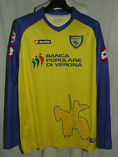 MAGLIA CALCIO SHIRT TRIKOT CAMISETA CHIEVO VERONA LONG SLEEVE PATCH tg. XXL
