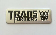Transformers 3D Metal Auto Car Motor Logo Emblem Badge Sticker Decal  tm    44