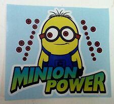 Minion Power vinyl racing track car sticker decal VW JDM DRIFT despicable me 2