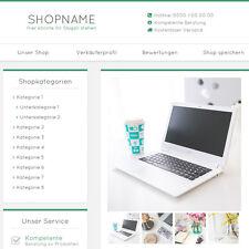 """eBay Auktionsvorlage """"Miral"""" Grün Responsive Design HTML Template Vorlage"""
