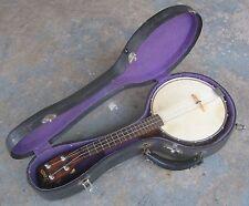 1924 Bacon #1 Banjo Ukulele w/ Original Hard Case. Banjo Uke. Banjolele.