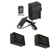 2X Batteries BP-DC12 BP-DC12-E BP-DC12-U + Charger for Leica V-LUX 4 & Q Typ116