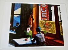 Edward Hopper Poster  CHOP SUEY Offset Lithograph Unsigned 14x11 Framable