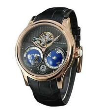 Forsining Men's Luxury Automatic Watch with World Map Tourbillon Movement