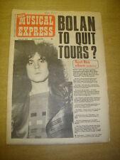 NME 1972 JUNE 24 MARC BOLAN T-REX FLEETWOOD MAC ELP TOWNSHEND