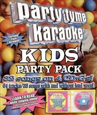Party Tyme Karaoke: Kids Party Pack by Party Tyme Karaoke/Sybersound (CD,...