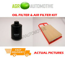 PETROL SERVICE KIT OIL AIR FILTER FOR VOLKSWAGEN LUPO 1.4 101 BHP 1999-05