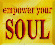 Empower Your Soul - Magnetic Small Spiritual Bumper Sticker / Decal Magnet