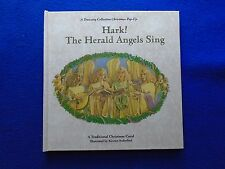 ~~ HARK! THE HERALD ANGELS SING HARDCOVER POP-UP BOOK ~ 1993 ~~