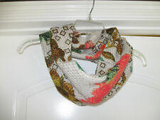 ANTHROPOLOGIE MADISON 88 INFINITY SCARF PRINT NWOT