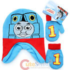 Thomas Tank Engine Beanie Gloves Set Thomas Big Face Warm Set -Toddler Boys