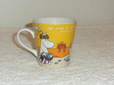 THE STORY OF MOOMINVALLEY ON BEACH COLLECTING SHELLS CUP-PLEASE READ DISCRIPTION