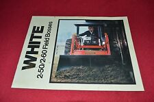 Oliver White Tractor 2-60 2-50 Field Boss Tractor Dealer's Brochure CNMD