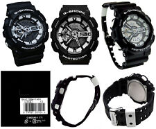 Casio G-Shock GA110BW-1A Black & White Fashionable Large Series Watch