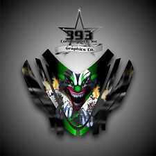 Arctic Cat M7 M8 M1000 Crossfire 05-11 Graphics Decal kit Hood Evil Joker Green
