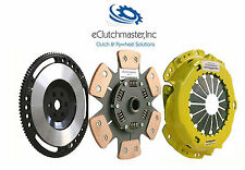 eCLUTCHMASTER STAGE 3 CLUTCH+FLYWHEEL KIT SET Fits 99-00 HONDA CIVIC Si B16 B18