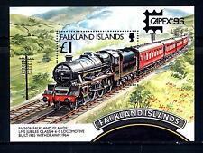 """FALKLAND ISLANDS - BF - 1996 - """"Capex '96"""". Esposizione filatelica internaz."""