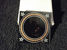 "Black 4.5""x 4.5"" Scrying Mirror Fortune Telling & Enhancing Clairvoyant Skills"