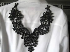Exquisite Venice Venise Lace Large Applique Bridal Motif  Medallion #1710s