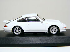 KYOSHO 1:64 Scale Porsche 911 RS(993) 1993 White, Diecast Miniature Car with Box