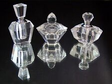 Torre & Tagus Allure Glass Vanity Gift Set 3 Miniature Perfume Bottles