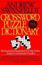 Crossword Puzzle Dictionary: Sixth Edition by Andrew Swanfeldt