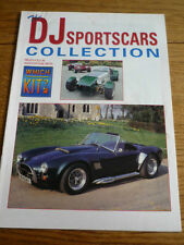 DJ SPORTSCARS DAX RANGE REPLICA KIT CAR SUPPLEMENT 'SALES BROCHURE' LATE 90's?